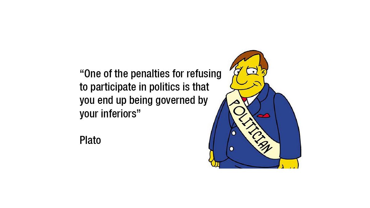 Politicians are Dumb