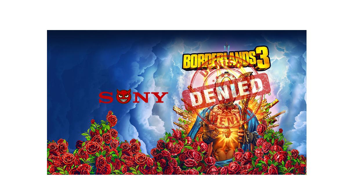 Sony Screws Over Borderlands 3 Players